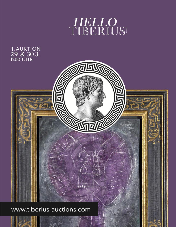 1. Tiberius Auktion